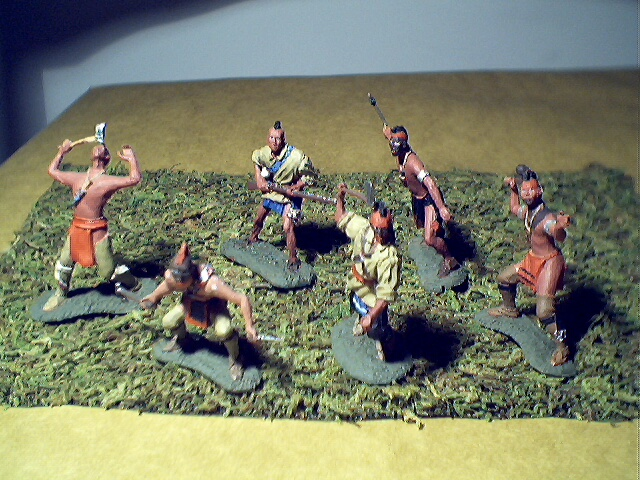 Set of Mohawk Indians $45.00.