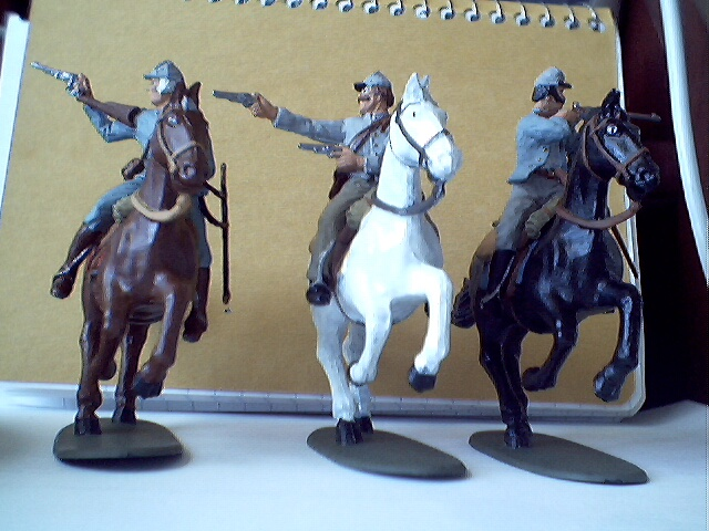 Confederate Calvary Set of 3 $40.00.